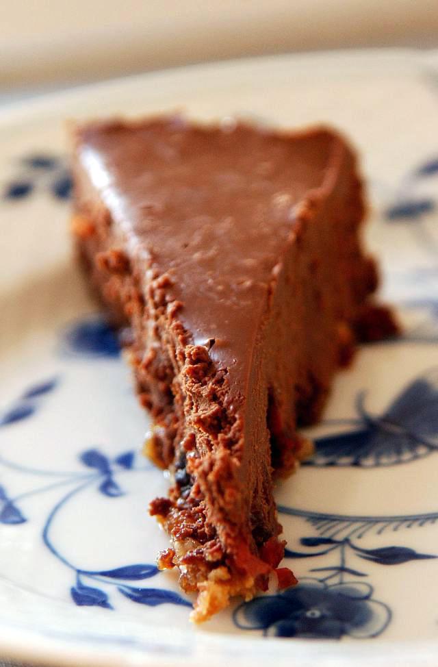 Chokoladetreoffelkage